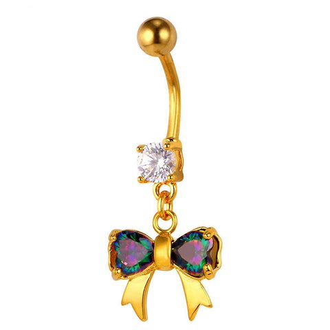 Pretty Bow Belly Button Ring Breon-Jovon