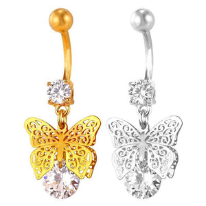 Butterfly Belly Button Ring Breon-Jovon