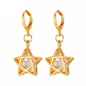 Star Drop Earrings Breon-Jovon