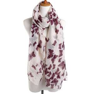 Butterfly Pattern Scarf Breon-Jovon