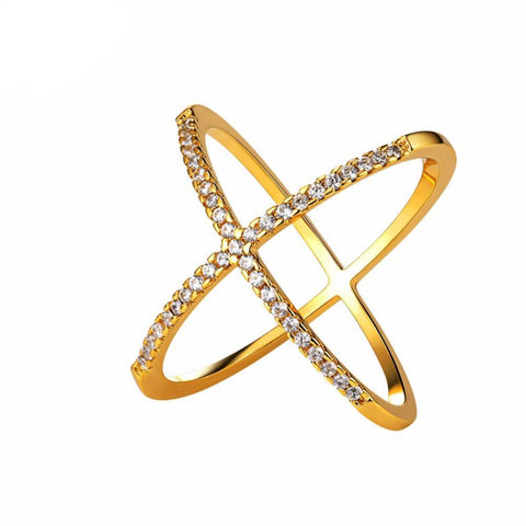 Sphere Cross Party Ring Breon-Jovon