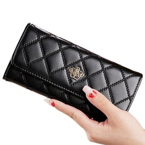 Crown Quilted Wallet Breon-Jovon