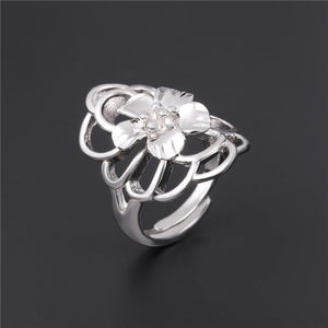 Flower Party Ring Re-sizable Breon-Jovon