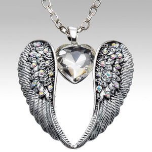 Wings Heart Necklace Breon-Jovon