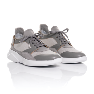 Mallet Footwear - Dalston Mesh and Leather Trainers 1