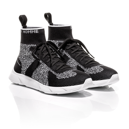 Dior Homme SS18 - Black and White Technical Knit B21 Sneakers 1