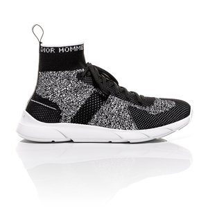 Dior Homme SS18 - Black and White Technical Knit B21 Sneakers