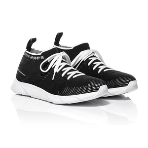 Dior Homme SS18 - Black Technical Knit B21 Low-Top Sneaker 1