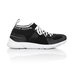 Dior Homme SS18 - Black Technical Knit B21 Low-Top Sneaker 2