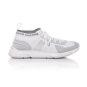 Dior Homme SS18 - White Technical Knit B21 Low-Top Sneaker 2