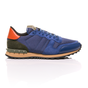 Valentino - Electric Blue Rockstud Sneakers 2
