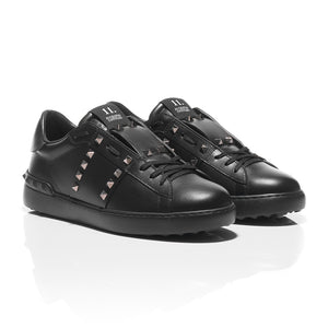 Valentino - Rockstud Untitled #11 Leather Sneakers 1
