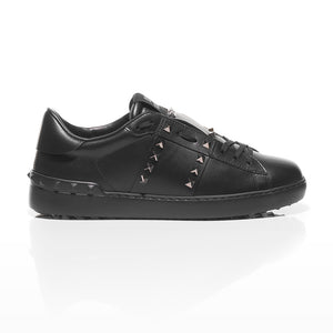 Valentino - Rockstud Untitled #11 Leather Sneakers 2