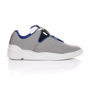 Dior Homme SS18 - Grey Nylon Canvas and Matt Black Calfskin Sneakers 2