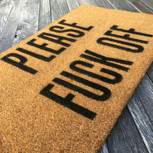 Please Fuck Off – Natural Coir Doormat