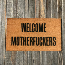 Welcome Motherfuckers – Natural Coir Doormat