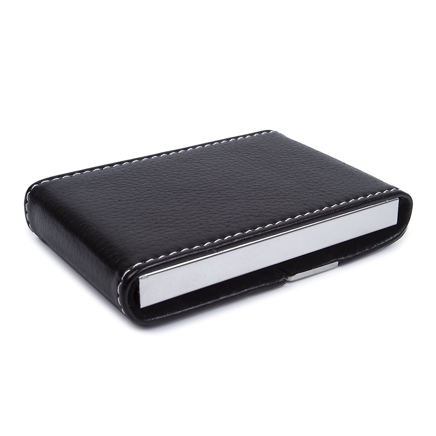 Business card case for men image collections free business cards black business card holder choice image free business cards business card holder pu leather stainless steel magicingreecefo Gallery