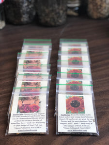 Heirloom seeds in biodegradable seed packs- Kids Seed Co. Asheville