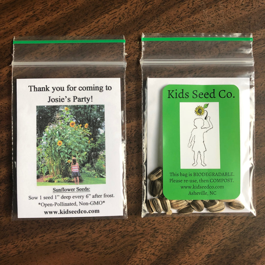 Kids Seed Co. Custom Party-Favors