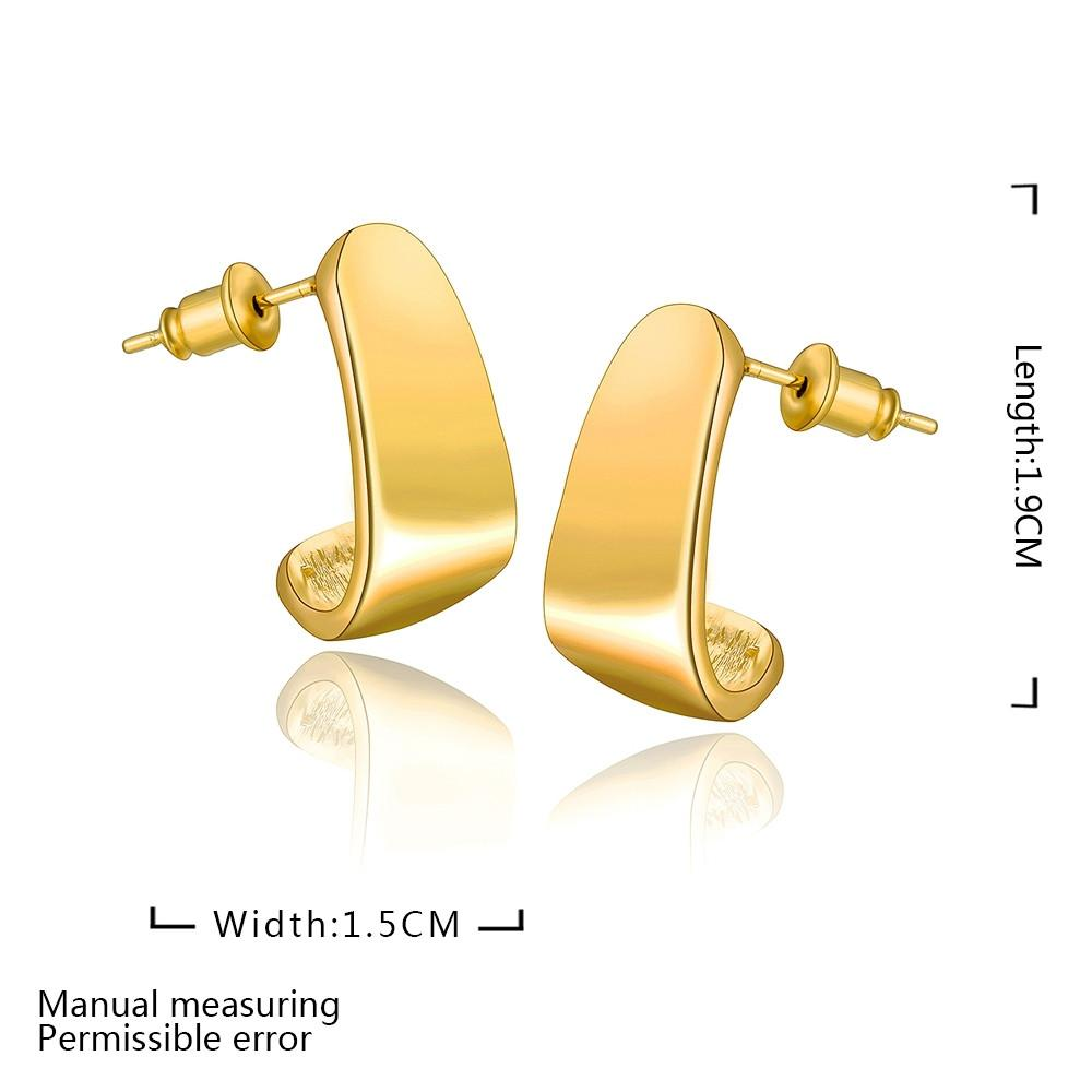 round gold stone stud plated trendy for women p earrings wholesale