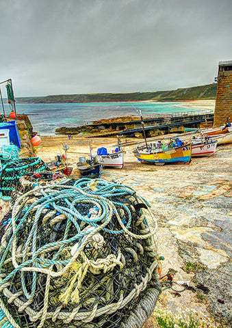 Fishing Boats on Slipway