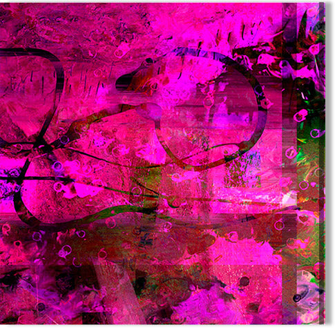 Abstract Cerise