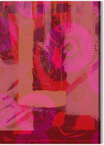 Cerise Abstract