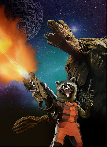 Guardians of the Galaxy - Rocket and Groot