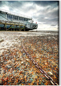 Old Ferry at Low Tide
