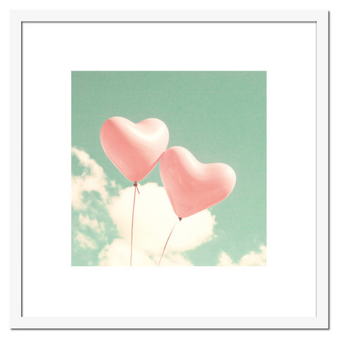Two Balloons Hearts