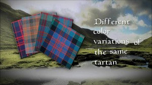 Tartan Variations Explained