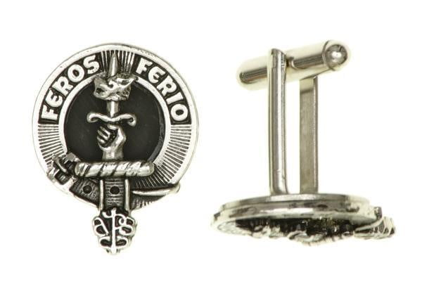 Clan Crested Cufflinks - Made to Order