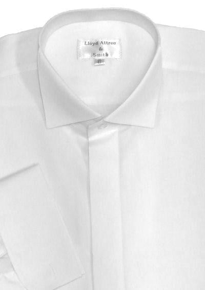 Victorian Wing Collar Dress Shirt - White