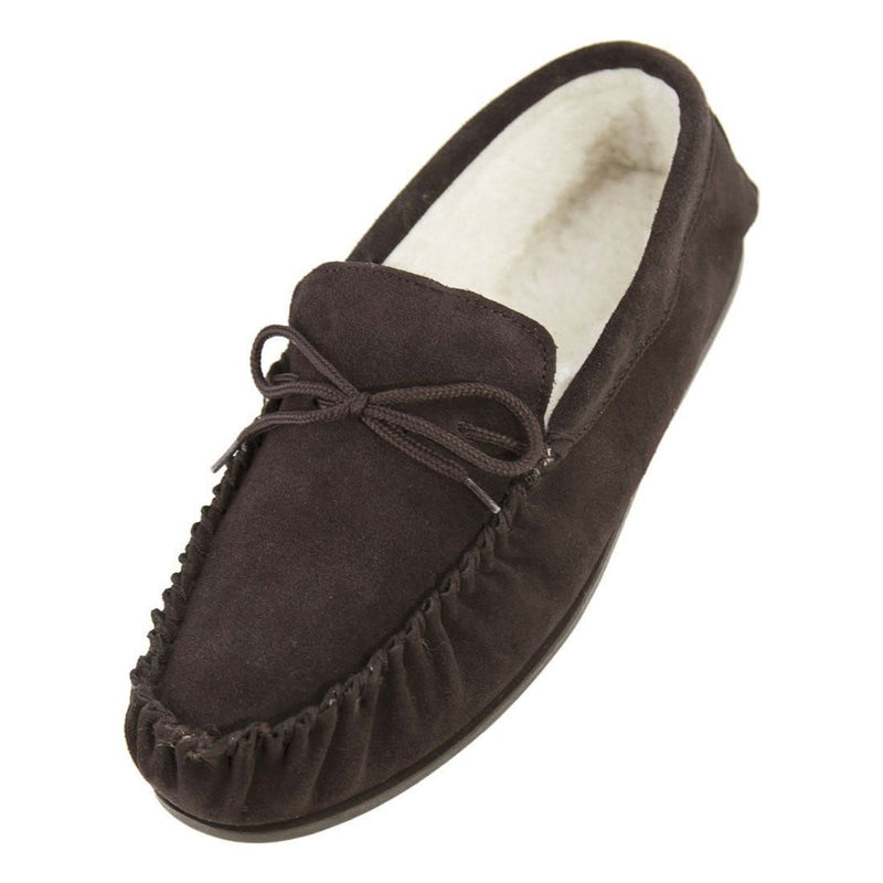 Mens Moccasins - Brown