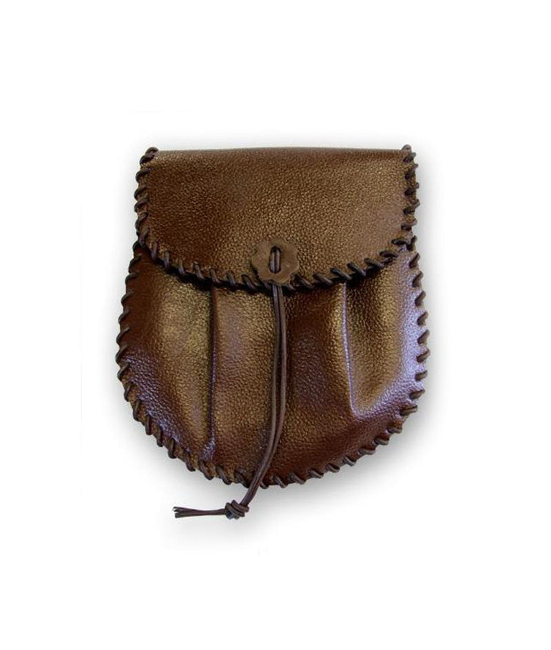 Brown Leather Rob Roy Style Sporran