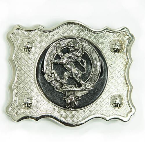 Clan Crested Buckle - Made to Order
