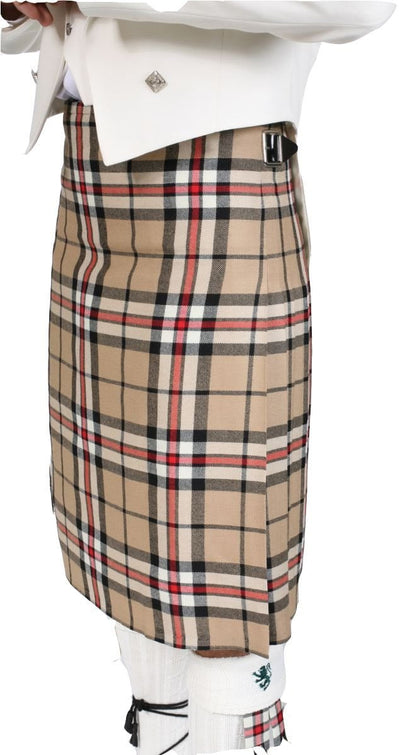 Men's Traditional Kilt, 100% Wool, 13oz, 8 yard