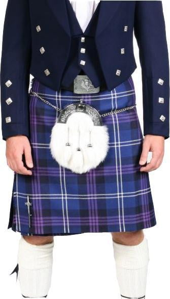 Men's Kilt, 13oz, 5 Yard, 100% Wool, Traditional Hand Made