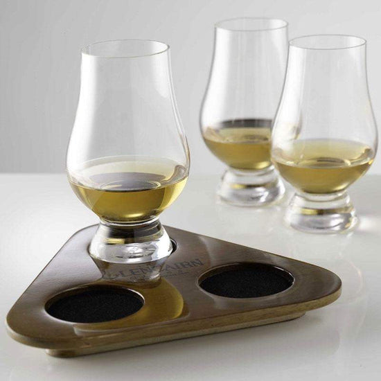 Glencairn Whisky Glass Flight Tasting Tray