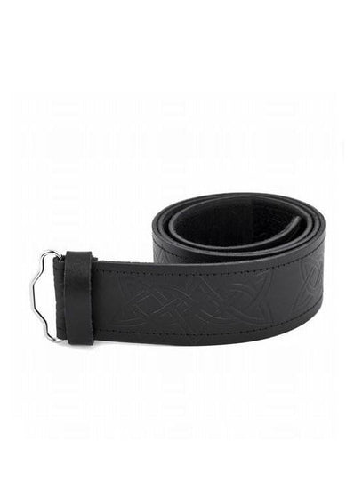 Embossed Interlink Velcro Kilt Belt