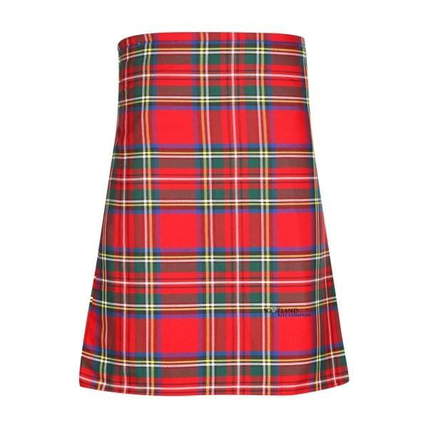 Men's Kilt, 8 Yard Polyviscose - Royal Stewart Modern