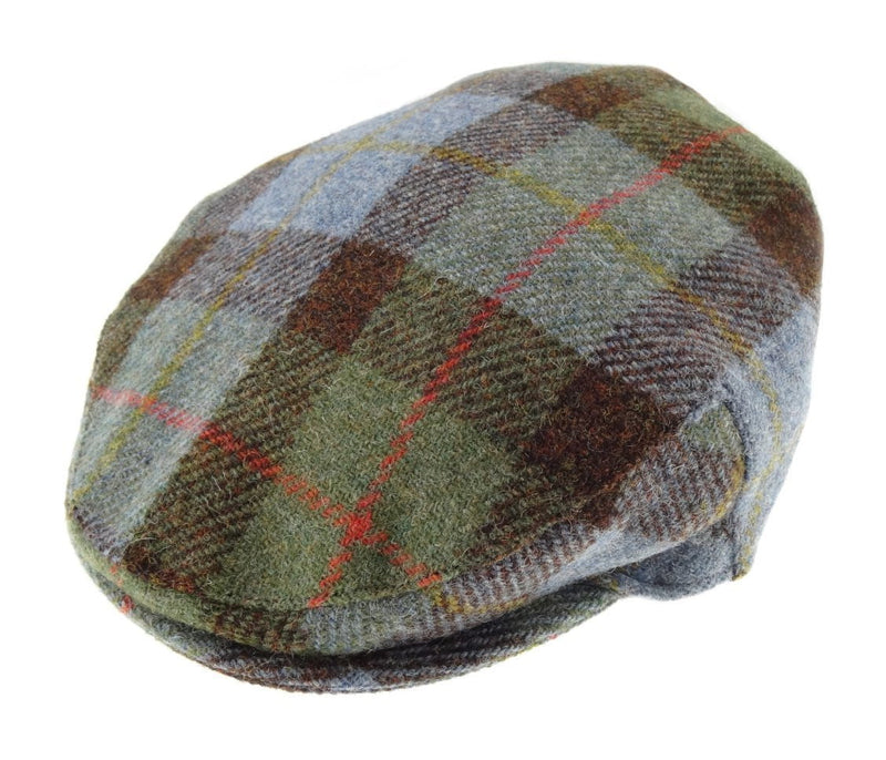Heritage Traditions Prince of Wales Tweed Flat Cap Hat