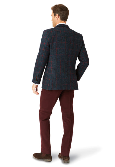 Mens Exclusive Genuine Scottish Harris Tweed Wool Jacket - Luskentyre
