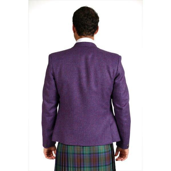 Luxury 3 Button Tweed Day Jacket Outfit with 8 yd Heavyweight Kilt Hand Made to Order
