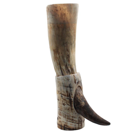 Drinking Horn on Stand - 1 Pint - Rough