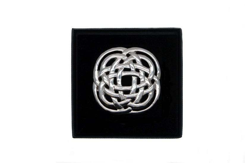 Celtic Interlink Design Brooch