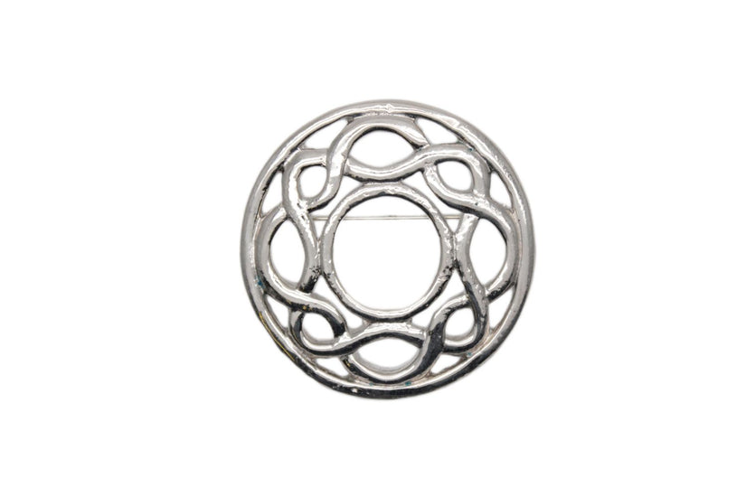 Celtic Swirl Design Brooch