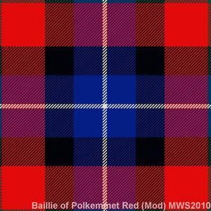 Baillie of Polkemmet Red Modern