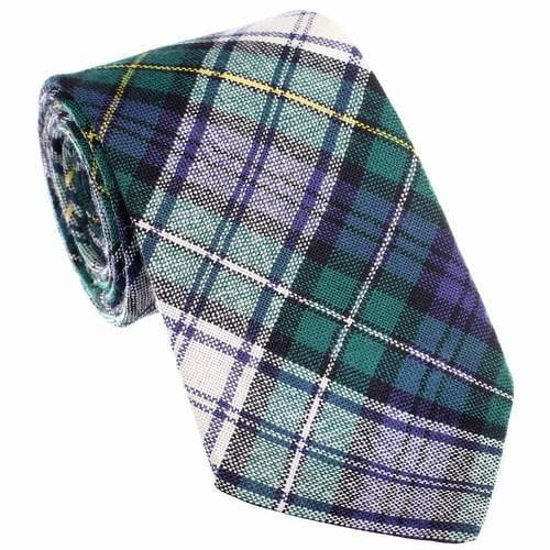 100% Wool Tartan Neck Tie - Campbell Dress Modern
