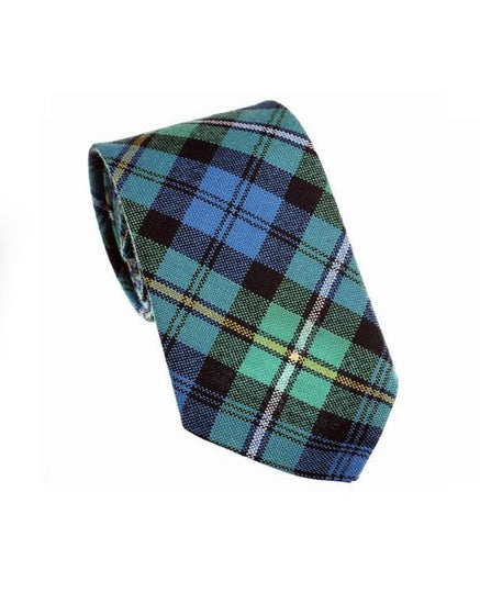 100% Wool Tartan Neck Tie - Campbell of Argyll Ancient
